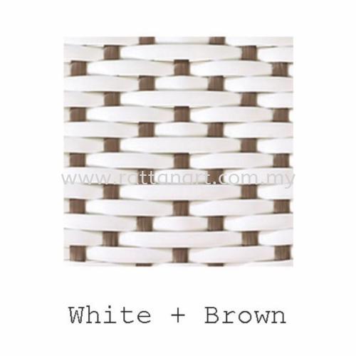 White + Brown