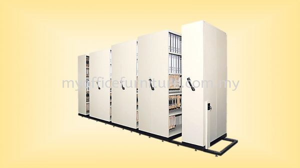 8 BAY MOBILE COMPACTOR (RM 5,224.00/UNIT) Steel Cabinets & Steel Furniture FILING CABINETS & STORAGE Selangor, Malaysia, Kuala Lumpur (KL), Klang Supplier, Suppliers, Supply, Supplies | myofficefurniture.com.my