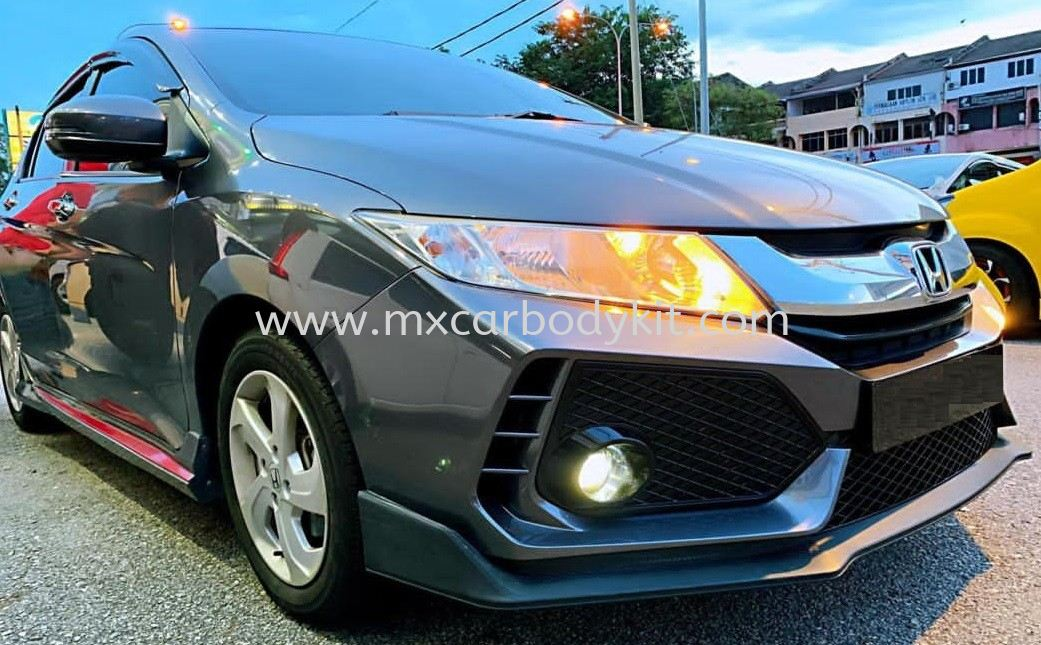 HONDA CITY 2014 - 2016 CONVERSION TO FC TYPE R BUMPER KIT CITY 2014 HONDA Johor, Malaysia, Johor Bahru (JB), Masai. Supplier, Suppliers, Supply, Supplies | MX Car Body Kit
