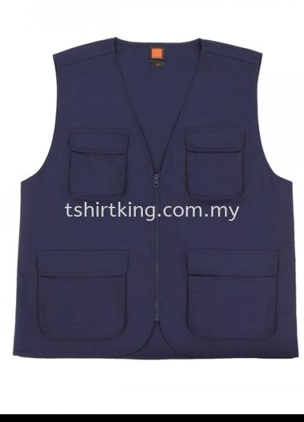 VT 03 Vest Penang, Pulau Pinang, Malaysia Supplier, Suppliers, Supply, Supplies, TShirtKing    Babajob Sdn Bhd