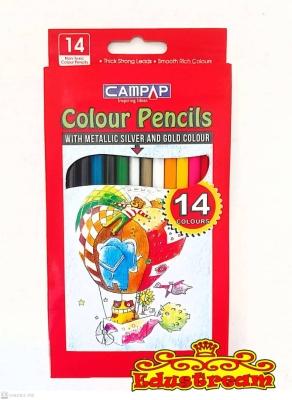 Campap 14 Color Pencils