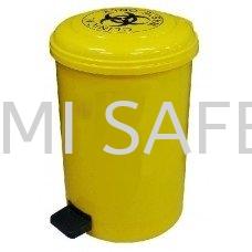 Biohazard Bin 18L Spills Control Selangor, Kuala Lumpur (KL), Puchong, Malaysia Supplier, Suppliers, Supply, Supplies | Bumi Nilam Safety Sdn Bhd