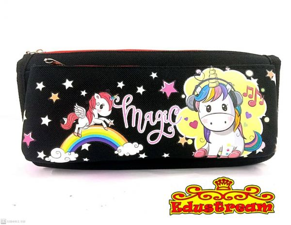 KD Unicorn Pencil Case  Pencil Cases/Boxes School & Office Equipment Stationery & Craft Johor Bahru (JB), Malaysia Supplier, Suppliers, Supply, Supplies | Edustream Sdn Bhd