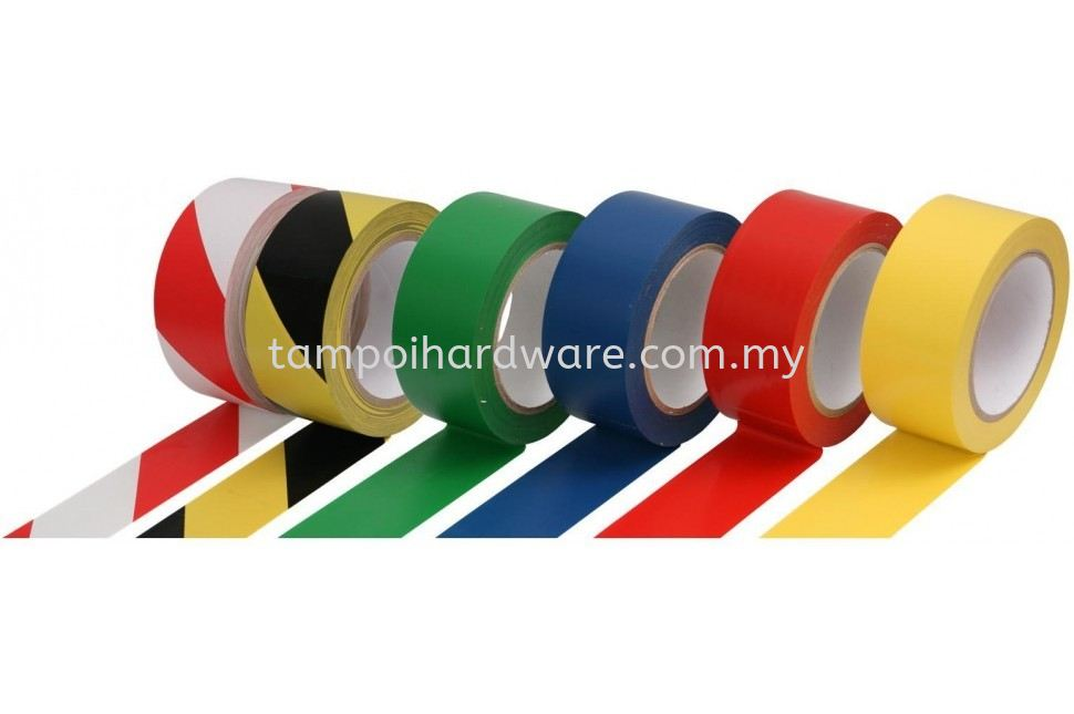 Floor Marking Tape Tapes Packaging Tools Johor Bahru (JB), Malaysia, Tampoi Supplier, Suppliers, Supply, Supplies | Tampoi Hardware Sdn Bhd