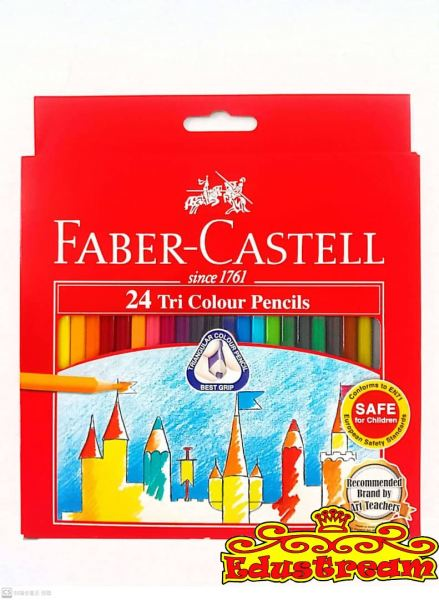 Faber Castell Tri Color Pencil Color Pencil Stationery Johor Bahru (JB), Malaysia Supplier, Suppliers, Supply, Supplies   Edustream Sdn Bhd