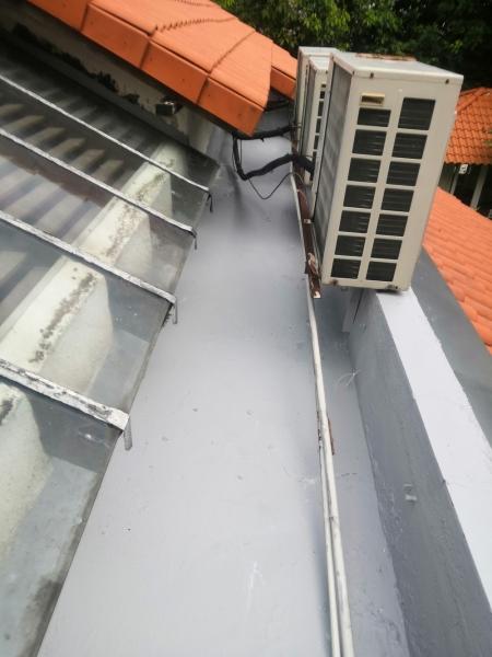 Installation Gutter - Shah Alam Waterproofing Selangor, Malaysia, Kuala Lumpur (KL) Services | Hong Lai Building Construction