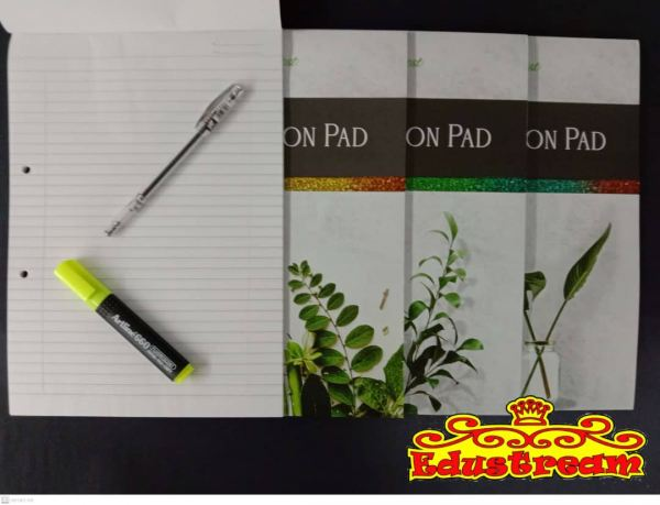 EXAMINATION PAD A4 SIZE 50'S (FEINT RULED) Foolscap Paper Stationery Johor Bahru (JB), Malaysia Supplier, Suppliers, Supply, Supplies | Edustream Sdn Bhd