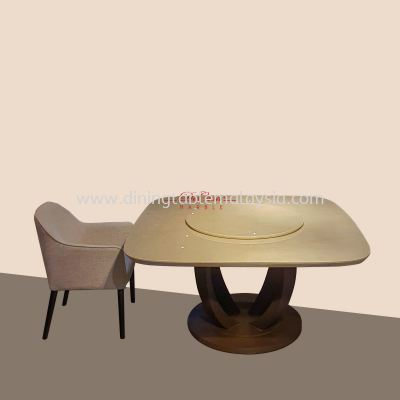 Royal Botticino | Italy | 6-8 Seaters | Dining Table only | RM6,999