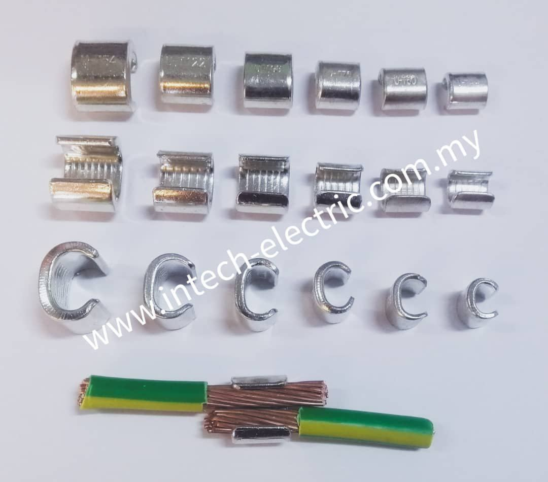 Copper C-type Connector Clamp Copper Clamp Copper Johor Bahru (JB), Johor, Ulu Tiram, Malaysia Supplier, Suppliers, Supply, Supplies | Intech Electric Sdn Bhd