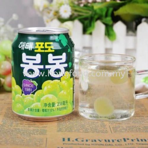 HF HAITAI GREEN GRAPE JUICE 238ML