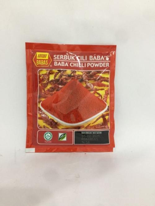 BABA'S Chilli Powder 20g 辣椒粉 Serbuk Cili