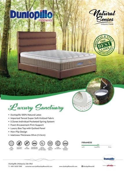 Luxury Sanctuary Mattress Dunlopillo Mattresses Bedroom Furniture Malaysia, Melaka Supplier, Manufacturer, Supply, Supplies   HOE HENG CANE FURNITURE SDN BHD