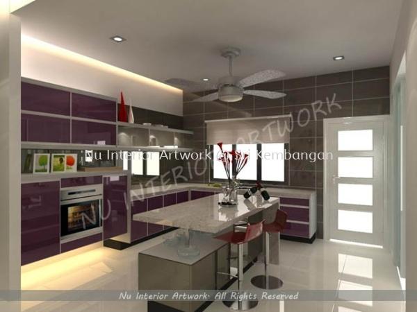 Kitchen Kitchen Design Selangor, Malaysia, Kuala Lumpur (KL), Seri Kembangan Services | NU Interior Art Work
