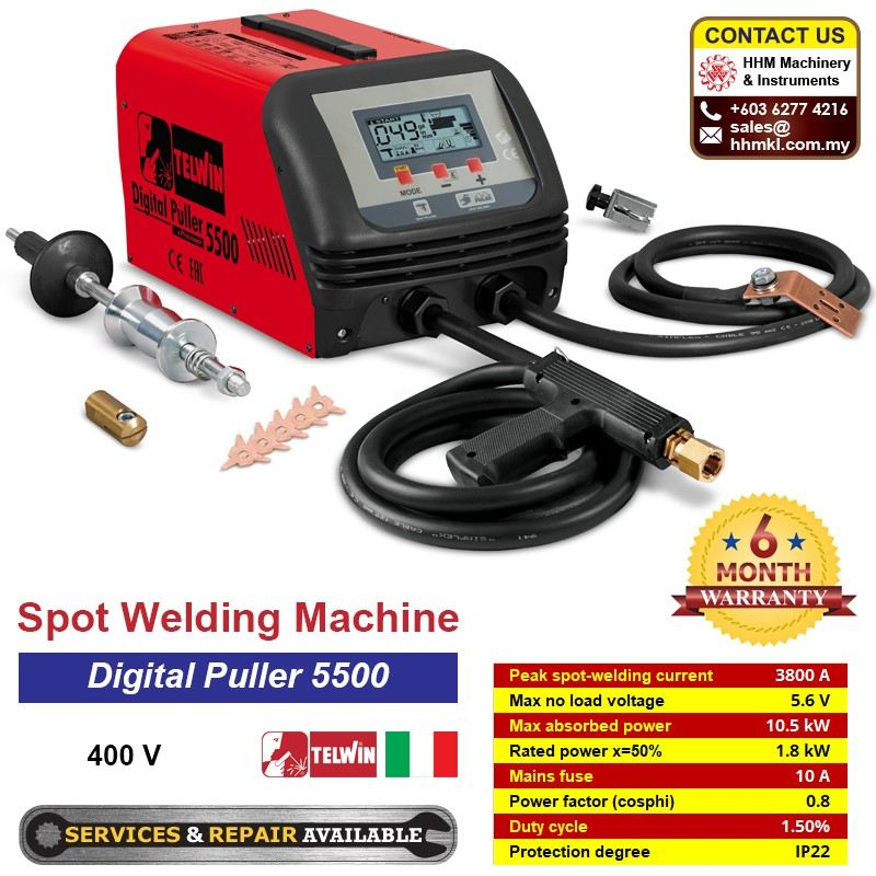 TELWIN Spot Welding Machine 每 Digital Puller 5500 400V