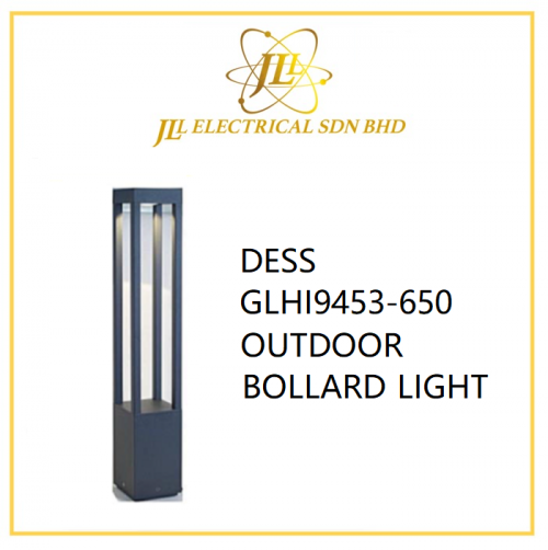 DESS GLHI9453-650 OUTDOOR BOLLARD LIGHT