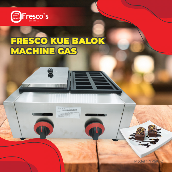 FRESCO KUE BALOK MESIN GAS DOUBLE Others Kuala Lumpur, KL, Malaysia Supply, Supplier, Suppliers | Fresco Cocoa Supply PLT