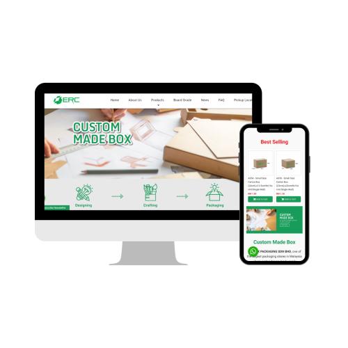 Web Design Selangor - Carton Box