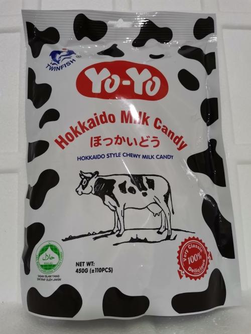 TWINFISH Hokkaido Milk Candy 450g