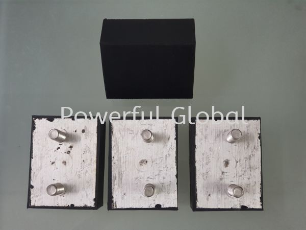 Rubber bonded Aluminum  Bonded Rubber Parts Rubber Extrusion Malaysia, Selangor, Kuala Lumpur (KL), Rawang Manufacturer, Supplier, Supply, Supplies | Powerful Global Supplies