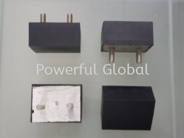 Black Rubber bonded Aluminum Bonded Rubber Parts Rubber Extrusion Malaysia, Selangor, Kuala Lumpur (KL), Rawang Manufacturer, Supplier, Supply, Supplies   Powerful Global Supplies
