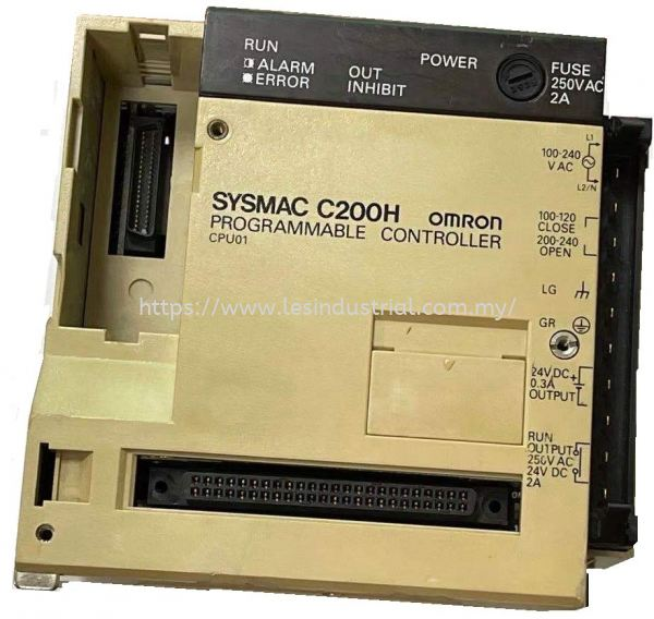 Omron C200H-CPU01-E Processor/Controller CPU - Processor/Controller Johor Bahru (JB), Malaysia, Ulu Tiram Supplier, Suppliers, Supply, Supplies | LES Industrial Automation Sdn Bhd