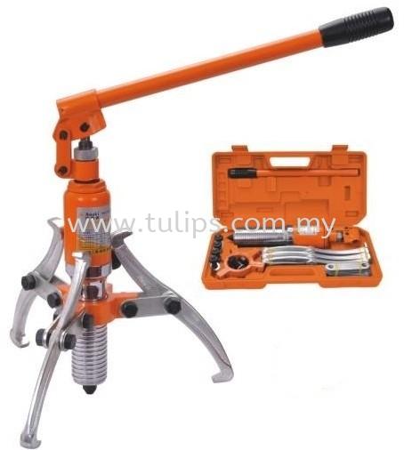 Multifunctional Hydraulic Gear Puller Asaki Hydraulic Tools Penang, Malaysia, Penang Street Supplier, Suppliers, Supply, Supplies | Chew Kok Huat & Son Sdn Bhd