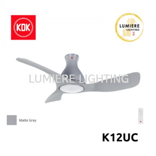 "KDK Nodoka JR K12UC (120cm/48"") LED Light"