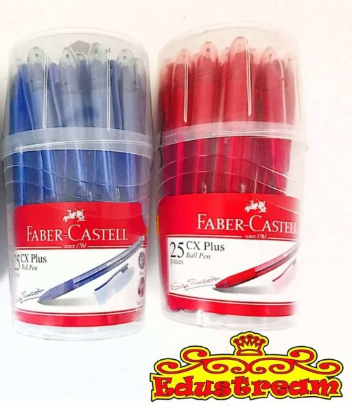 FABER CASTELL CX PLUS BALL PEN (DRUM) Writing & Correction Stationery & Craft Johor Bahru (JB), Malaysia Supplier, Suppliers, Supply, Supplies | Edustream Sdn Bhd