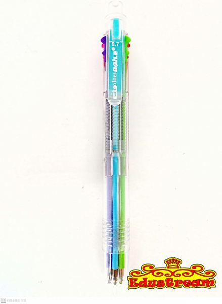 Baile 6 Color in 1 Ball Pen Pen Stationery Johor Bahru (JB), Malaysia Supplier, Suppliers, Supply, Supplies   Edustream Sdn Bhd