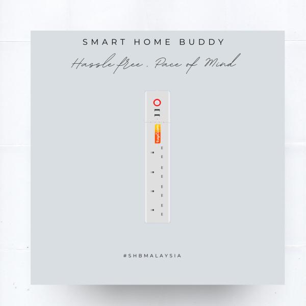 Smart Extension Smart Plug Smart Wall Switch Series Malaysia, Selangor, Kuala Lumpur (KL), Petaling Jaya (PJ), Klang Supplier, Suppliers, Supply, Supplies | SMART HOME BUDDY
