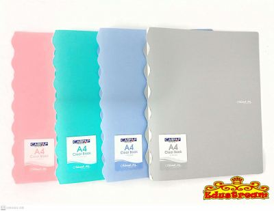Campap A4 Clear Book (10 Pockets)