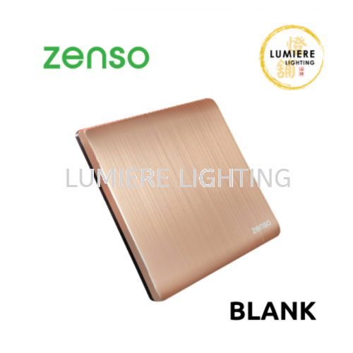Zenso Switch Metallo Blank Rose Gold