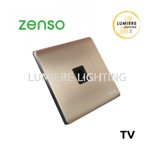 Zenso Switch Metallo TV Rose Gold