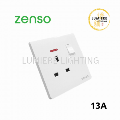 Zenso Switch Grande 13a White
