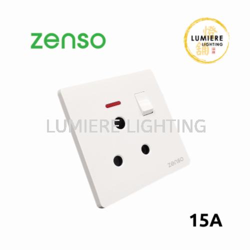 Zenso Switch Grande 15a White