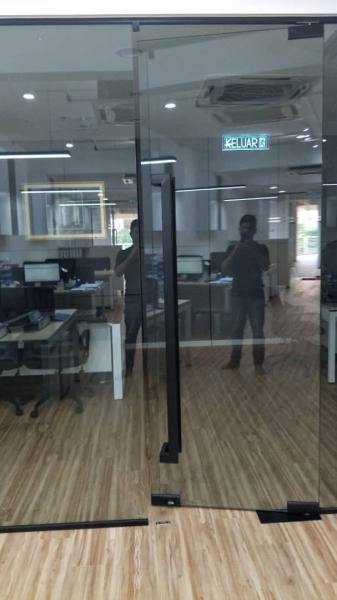Glass Door Glass Door Selangor, Malaysia, Kuala Lumpur (KL), Shah Alam Contractor, Installation | Reliance Facade Sdn Bhd