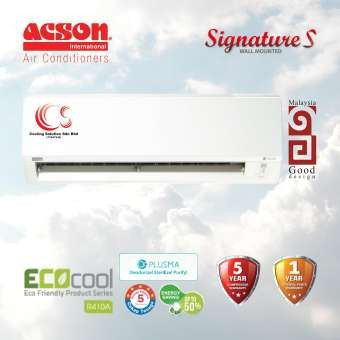 (A5WMY10S) New Model 2020 ACSON 1.0HP - 2.5HP Basic Inverter R410A Air Conditioner + ECO COOL + Plusma + 5 STAR Energy Saving (Deliver by seller within Klang Valley area)