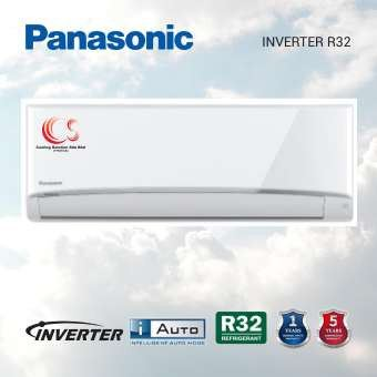 (CS-PU9XKH/CU-PU9XKH) New Model 2021 Panasonic 1.0HP - 2.5HP Inverter Air Conditioner + I-Auto + R32 Refrigerant