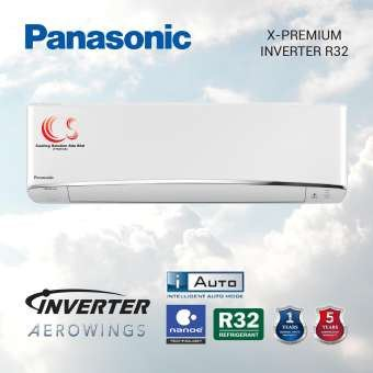 (CS-XU10VKH/CU-XU10VKH) New Model 2020 Panasonic 1.0HP - 2.5HP x-Premium Inverter R32 Air Conditioner + NANOE Technology + AEROWING + Intelligent AUTO Mod