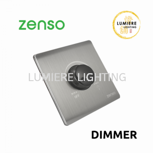 Zenso Switch Metallo Dimmer Silver