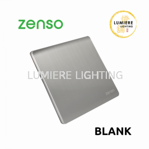 Zenso Switch Metallo Blank Silver