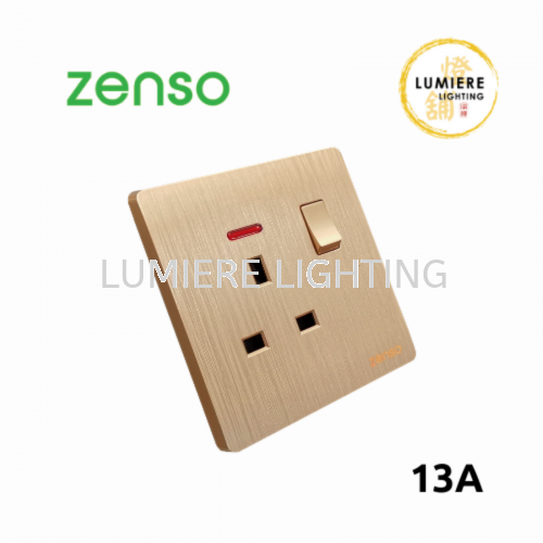 Zenso Switch Grande 13a Gold