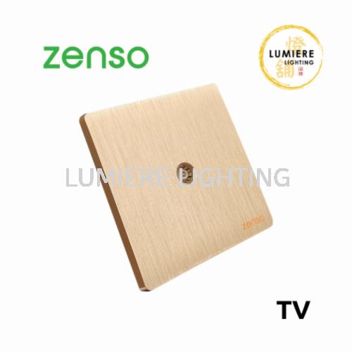 Zenso Switch Grande TV Gold