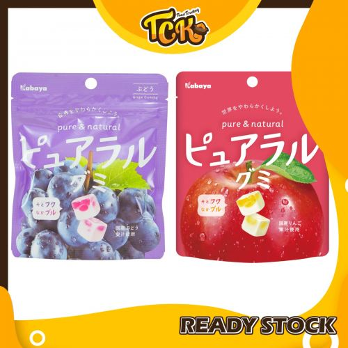 JAPAN KABAYA PURE & NATURAL GUMMY CANDY 日本纯天然软糖