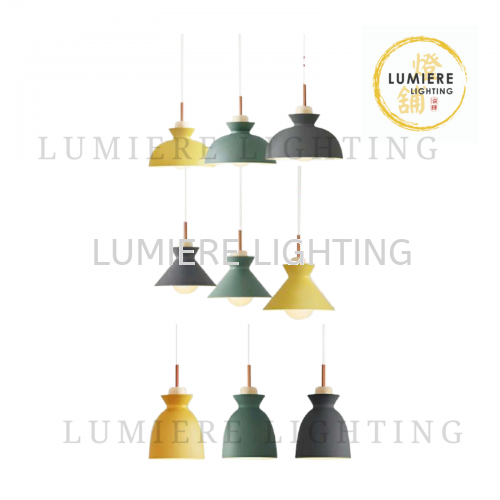 Nordic Minimalist Single Pendant Light 10022