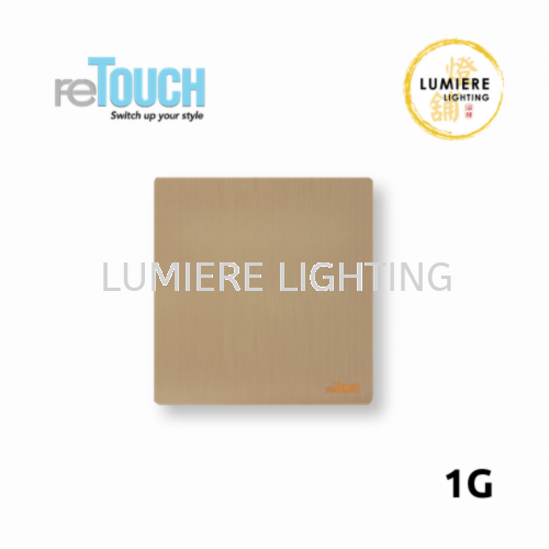 Retouch Switch 1G/2G/3G/4G Texture Gold