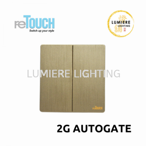 Retouch Switch 2g Autogate Texture Gold