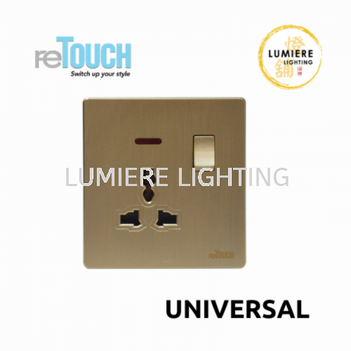 Retouch Switch Universal Texture Gold