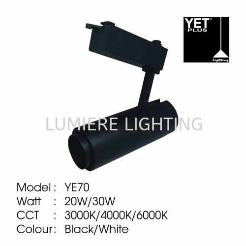 YET TRACK LIGHT YE70