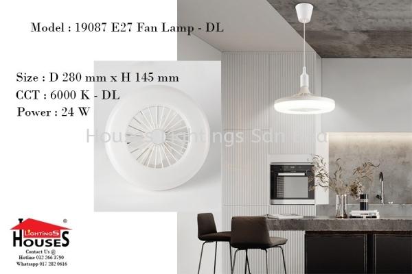 GB19087 E27 BULB 24W LED-DL+FAN Single Pendant Indoor Pendant Light  Pendant Light Selangor, Malaysia, Kuala Lumpur (KL), Puchong Supplier, Suppliers, Supply, Supplies   Houses Lightings Sdn Bhd